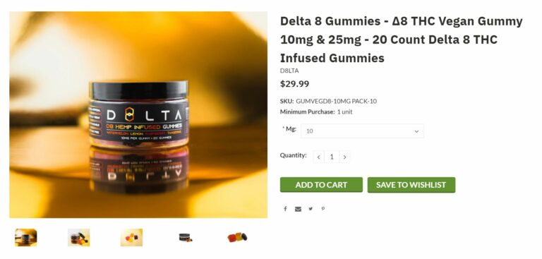 delta 8 vegan gummies
