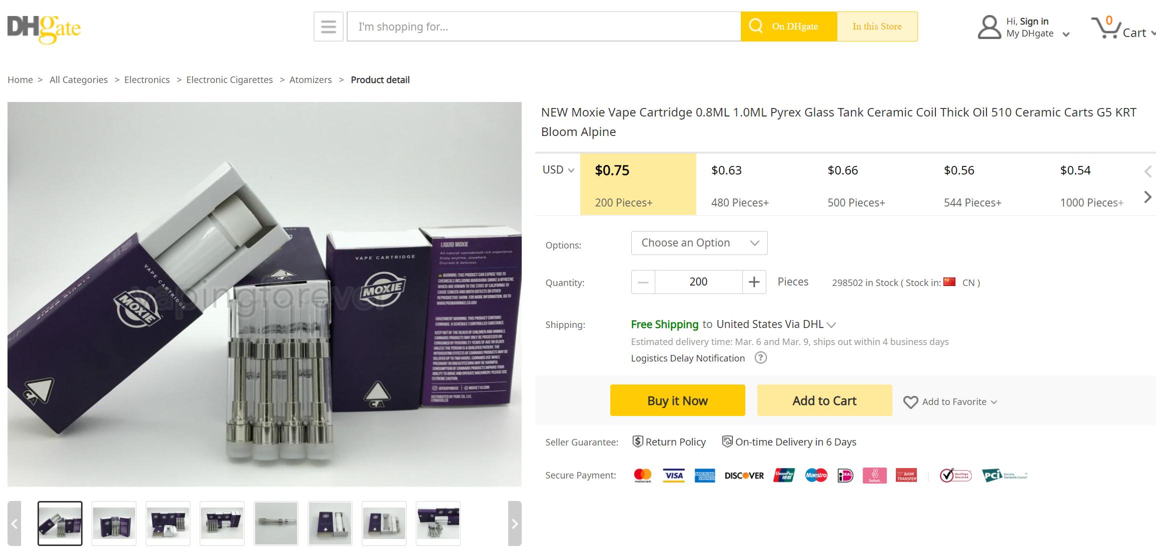 fake moxie vape cartridges