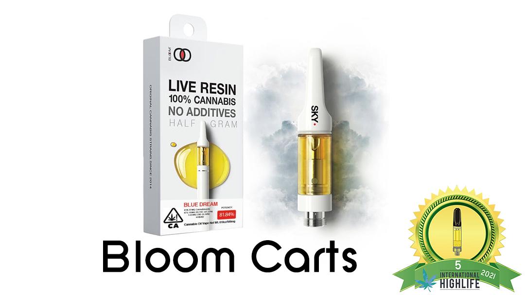 bloom THC vape oil cartridges