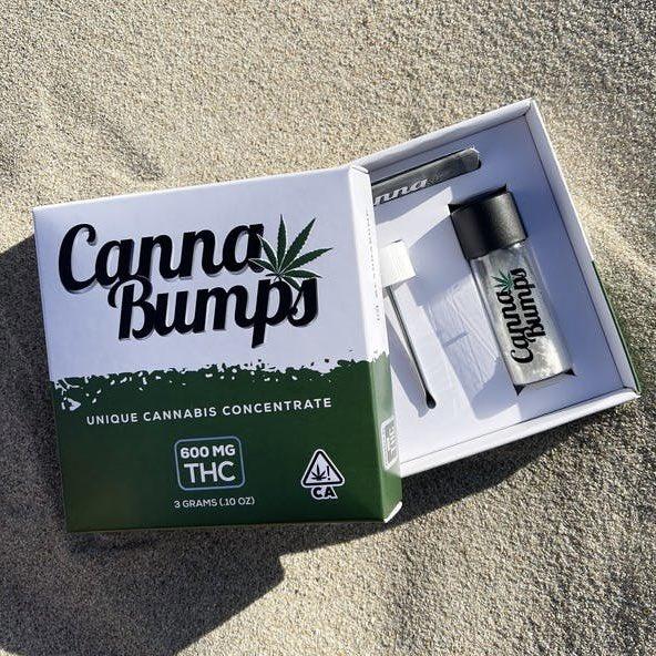 Canna Bumps 600 mg THC Box